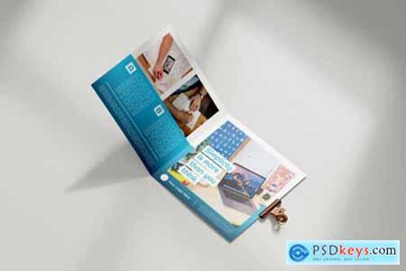 Brochure Square Business Service