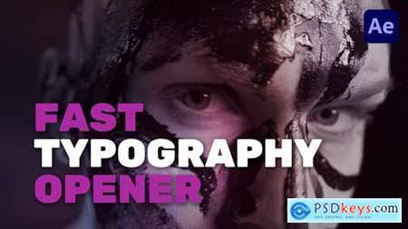 Fast Typography Opener 32311358
