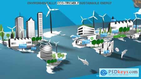Environmentally Eco-friendly & Sustainable Energy 8785082