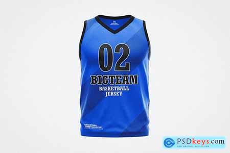 Basketball Jersey Shirt Mockup Template