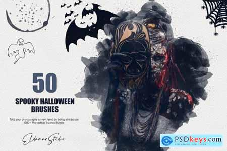 50 Spooky Halloween Brushes 6259378