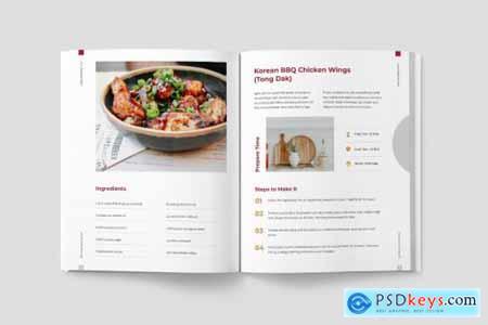 Recipe Book Template853