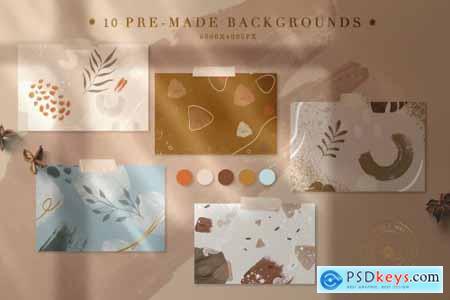 90 Procreate Stamps & Photoshop Brushes