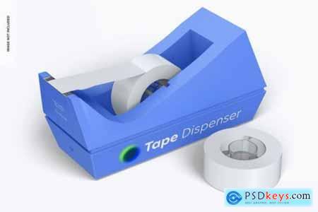 Tape dispenser mockup