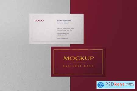 Business Card Mockup Set 6245876