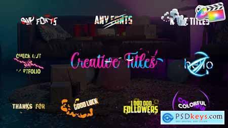 Creative Titles FCPX 32558756