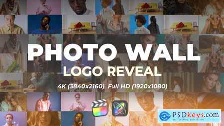 Photo Wall Logo Reveal 32668621
