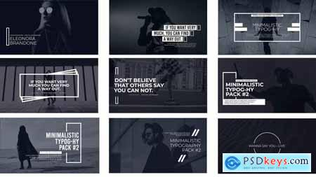 Minimal Typography Pack 2 FCPX 32340062