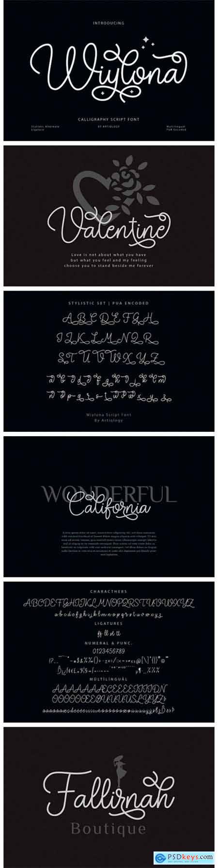 Wiylona Font