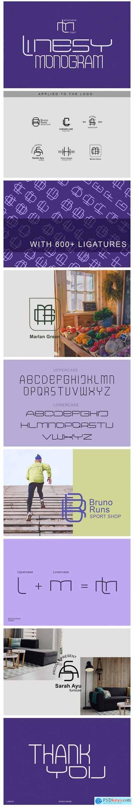 Linesy Font