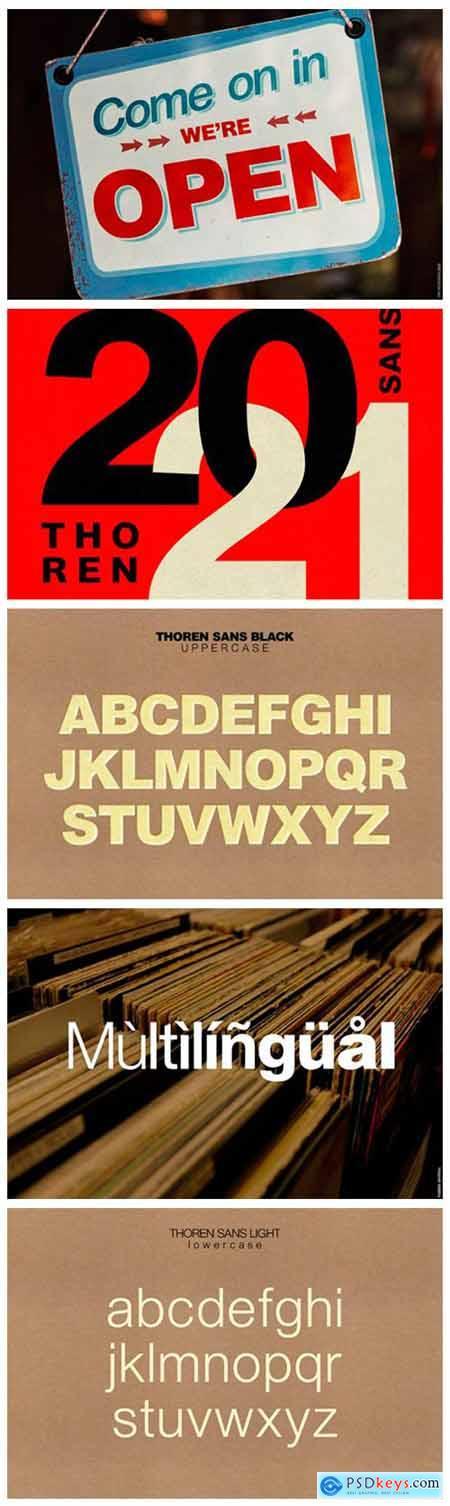 Thoren Font