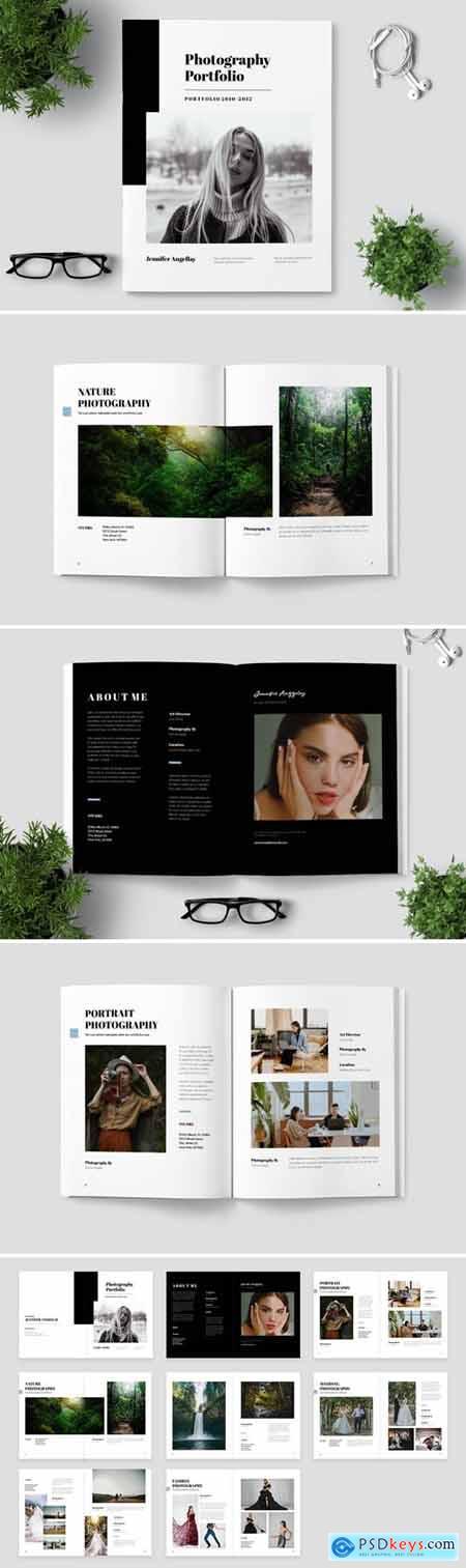 Photo Book Template L62WU5Q