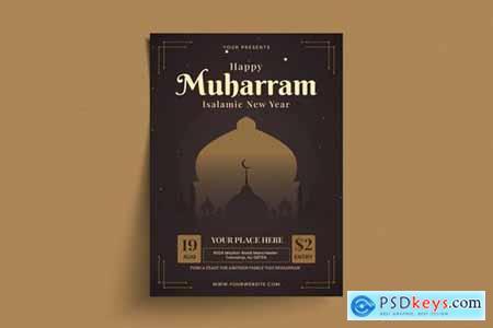 Muharram Flyer Template