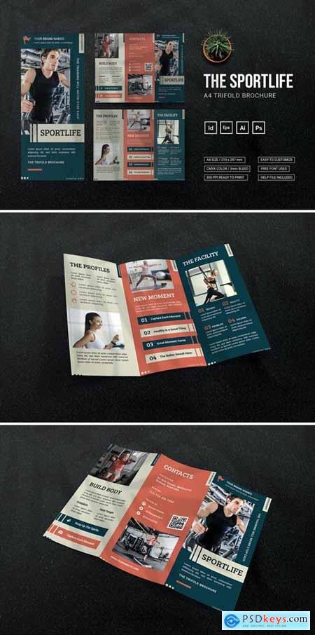Sportlife - Trifold Brochure