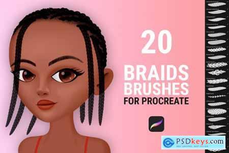 Braid Brushes for Procreate 6156603