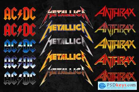 Heavy Metal Text Styles Pack Vol. 2 6175195
