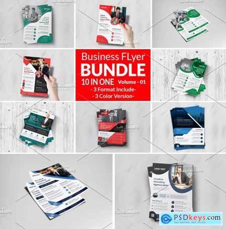 Corporate Business Flyers Bundle 5984364