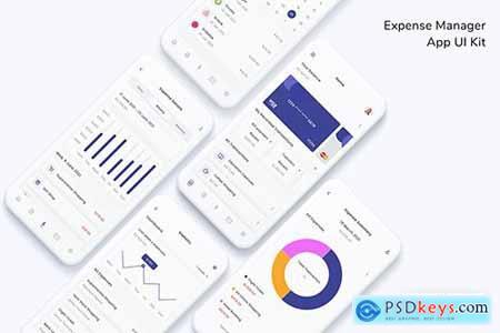 Expense Manager App UI Kit