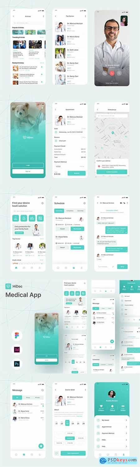 HiDoc - Medical App