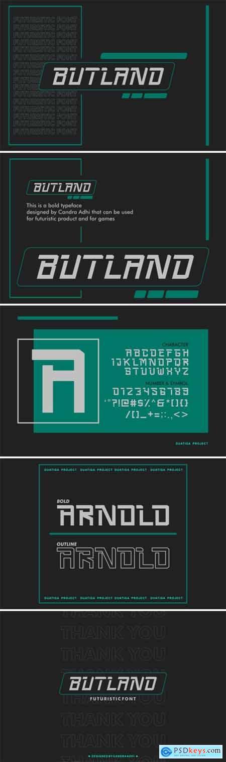Butland Font