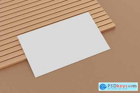 9 Perspective Business Card Mockup Pack 15