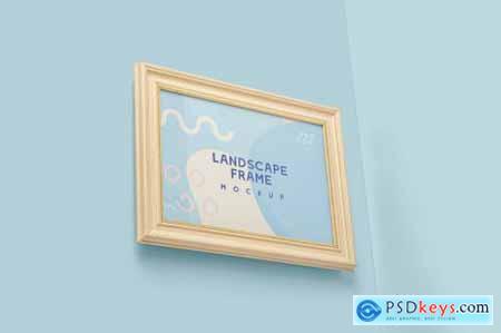 Landscape Wood Frame Mockups