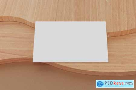 9 Perspective Business Card Mockup