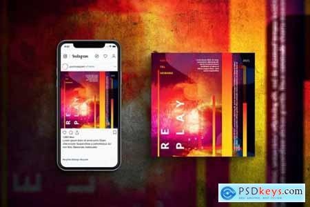 Art Music Event Square - Print + Social post
