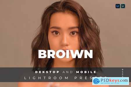 Broiwn Desktop and Mobile Lightroom Preset