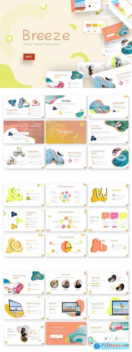Breeze - Creative Powerpoint Template