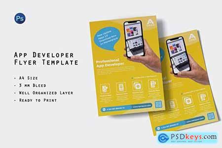 Apps Developer Flyer Template