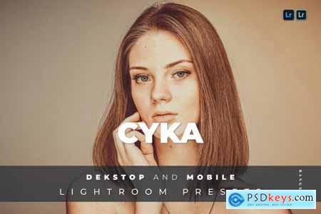Cyka Desktop and Mobile Lightroom Preset