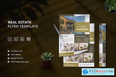 Real Estate - Flyer