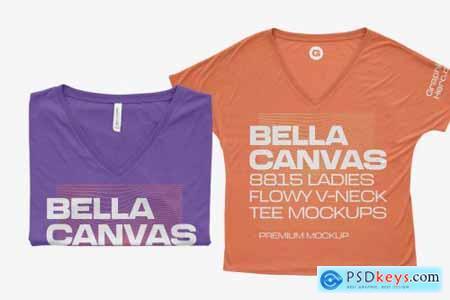 Bella Canvas 8815 Flowy Mockups 6216410