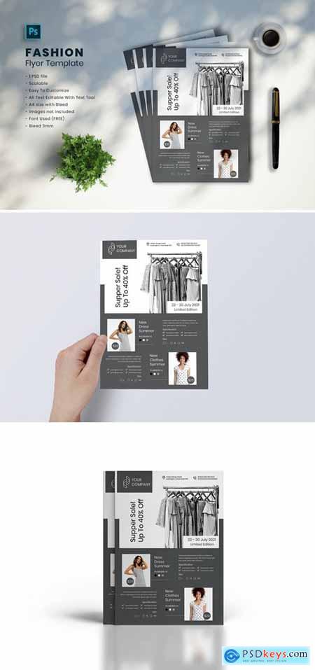Fashion Flyer Template vol-06