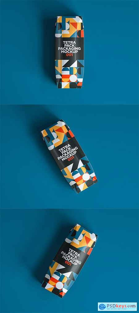 Tetra Pack Packaging Mockup 001