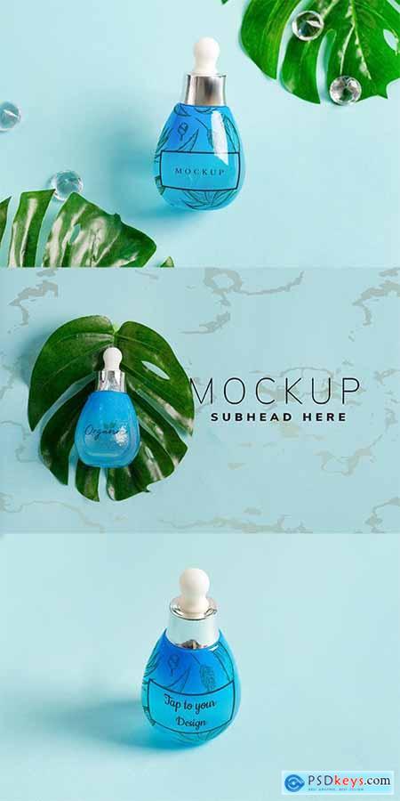 Dropper Bottle Mockup Set 5 9PCEUMY