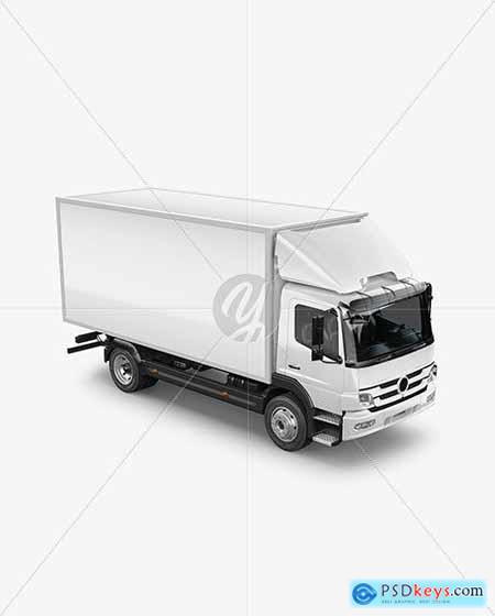Truck Mockup - Half Side View 85967