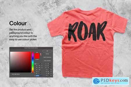 Kids T-shirt Mockup 5886366