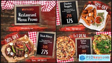 BBQ Menu - Restaurant Promo 33124422
