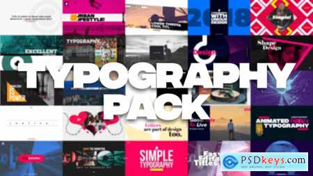 35 Typography Pack 21850780