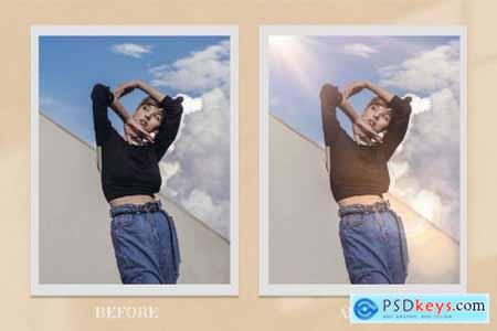 50 Realistic Sunlight Photo Overlay 6316789