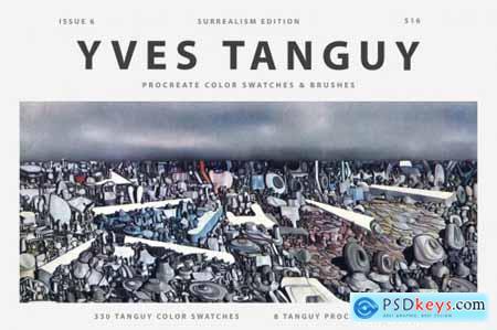 Yves Tanguys Art Procreate Brushes 5988141