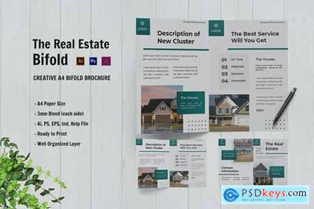The Real Estate Bifold Brochure