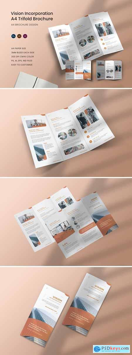 Vision Incorporation Trifold Brochure