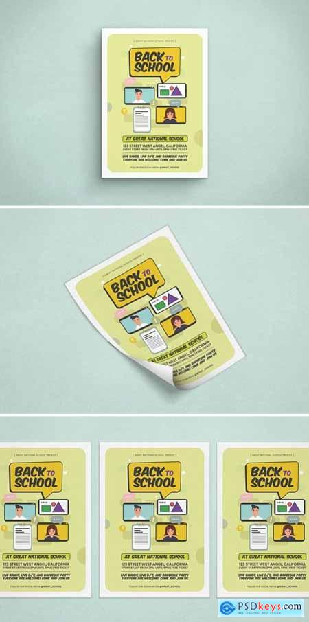 Back To School Psd Template