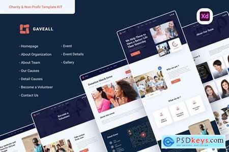 Gaveall - Nonprofit & Charity Web UI Kit