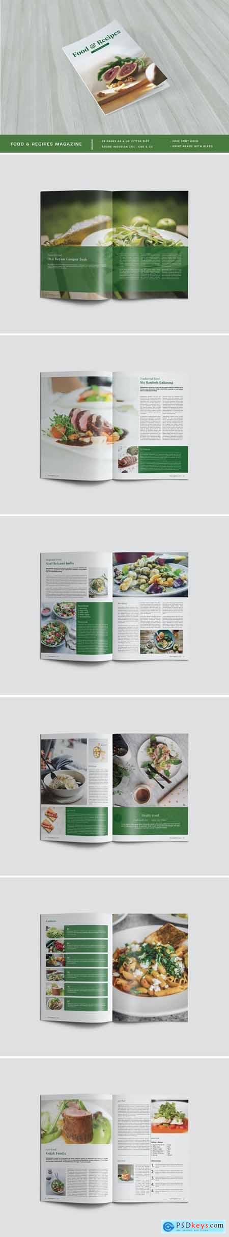 Food & Recipes Magazine