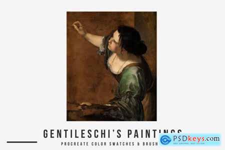 Gentileschis Art Procreate Brushes 5841630