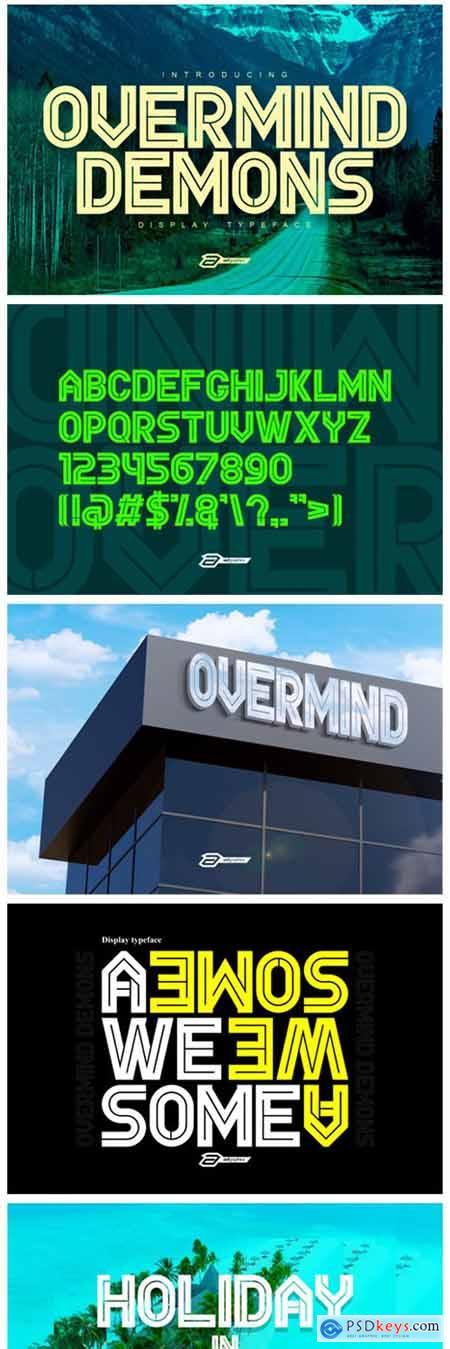 Overmind Demons Font